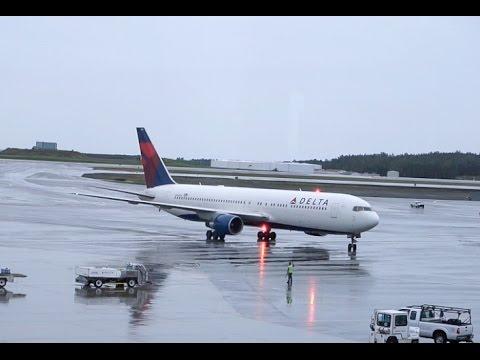 DELTA AIRLINES Boeing 767-300 / Takeoff Anchorage / Land in Atlanta