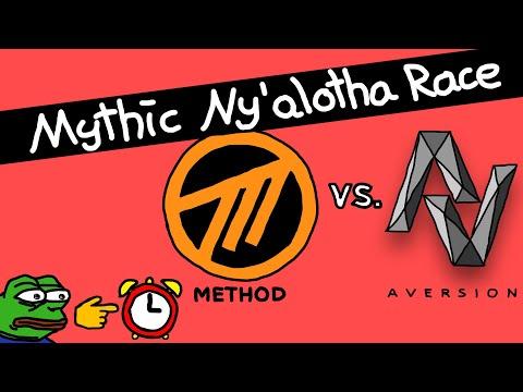 MYTHIC NY'ALOTHA In Under 80 MINUTES   Method Vs. Aversion Raidrace   Destruction Warlock PoV