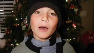 All Tate Berney wants for Christmas is his 2 front teeth