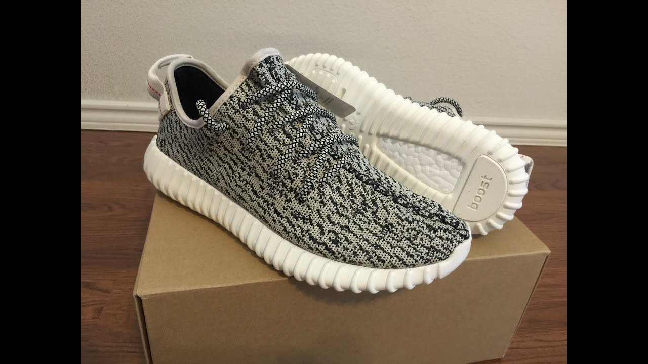 192609d75f4 Adidas Yeezy Boost 350 Turtle Dove unboxing and on feet review ...