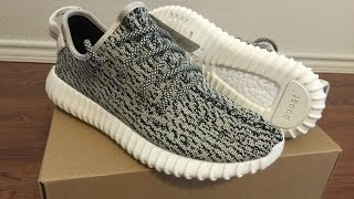 adidas yeezy boost 350 turtle dove unboxing and on feet review