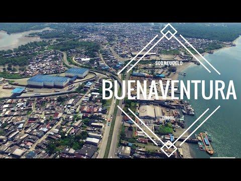 Pacifico Colombiano - Buenaventura - Vista aérea