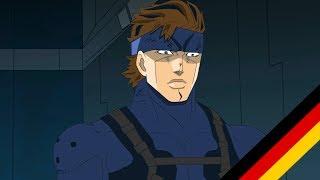 SSBB Snake's codec call animation - Zero Suit Samus [German Fandub]