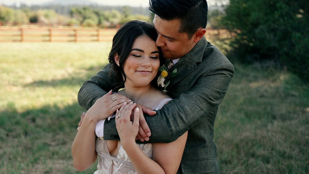 Alyssa and Michael's wedding at Black Butte Ranch in Sisters Oregon