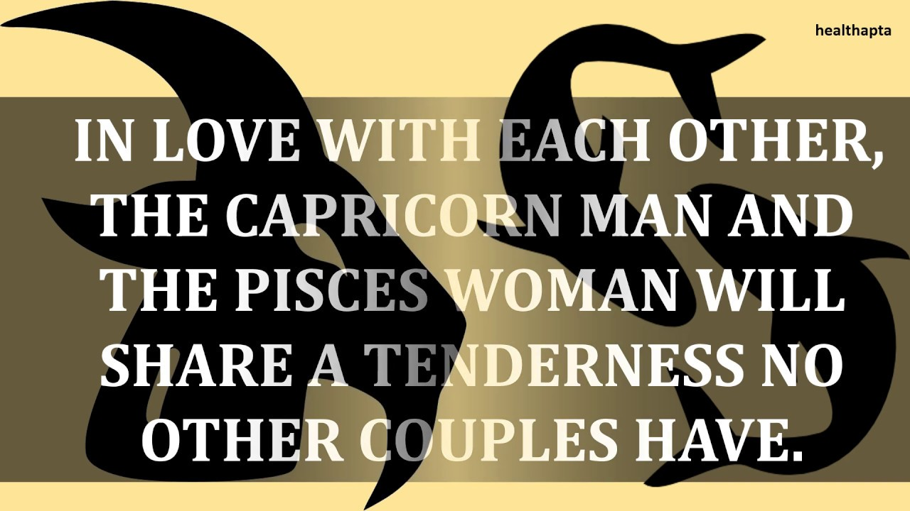 Repeat CAPRICORN MAN WITH PISCES WOMAN by Health Apta