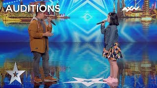A Powerful Duet By J&k Voices! | Asia's Got Talent