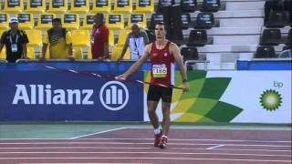 Men's javelin F13 | final |  2015 IPC Athletics World Championships Doha thumbnail