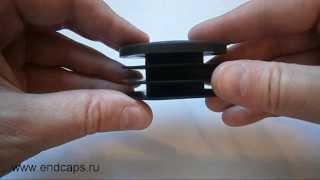 Заглушка круглая для трубы с наружным диаметром 60(http://www.endcaps.ru интернет-магазин пластиковых заглушек., 2013-08-23T16:23:45.000Z)