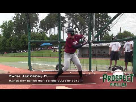 Zach Jackson prospect video, C, Haines City Senior High School Class of 2017