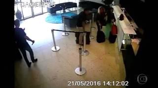 Cunhado de Ana Hickmann com arma após disparos - notícias em Minas Gerais