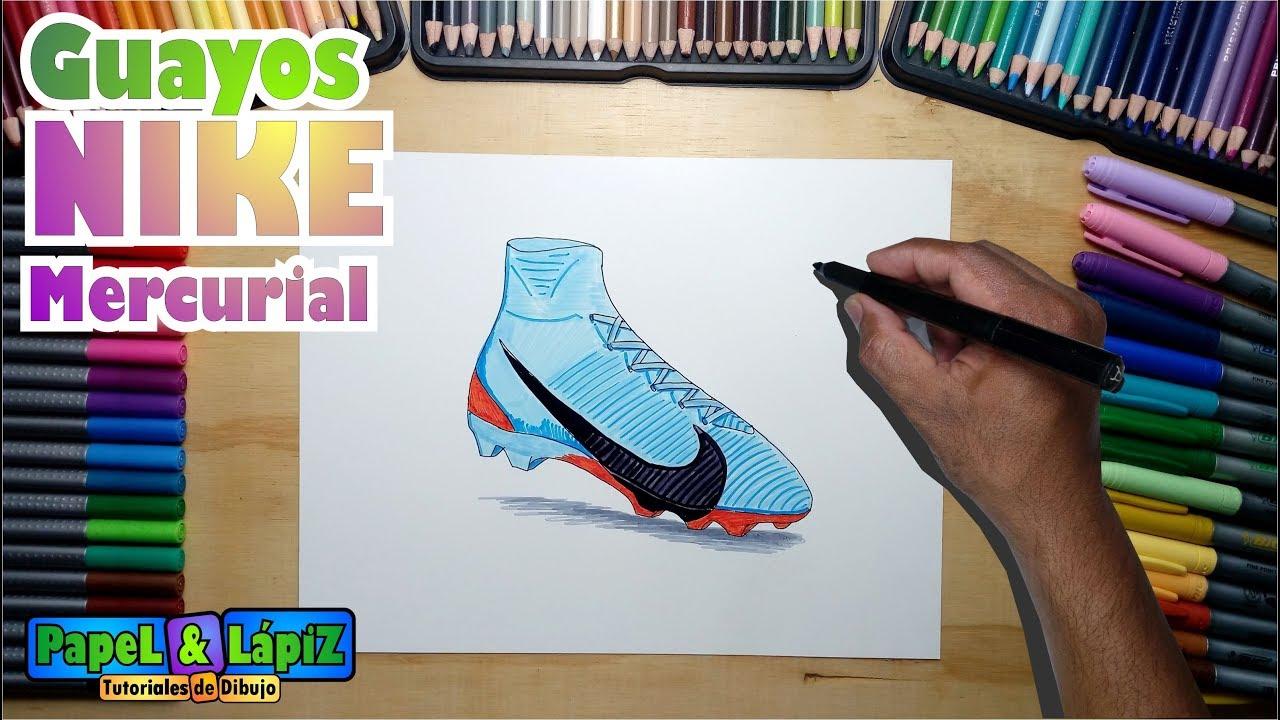 Dibujar Los Nike Guayos A 2018 Aprende Mercurial N8XwOn0Pk