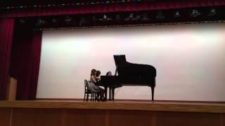 ピアチェーレピアノ研究会2014秋コンチェルトでの演奏。エンディング間...