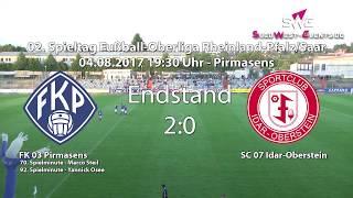 Oberliga RLP/Saar FK 03 Pirmasens gegen SC 07 Idar-Oberstein