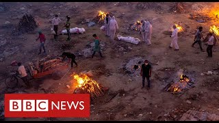 India overwhelmed by world's worst Covid crisis - BBC News