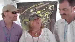 Sandy Shore interviews Dotsero at Seabreeze Jazz Fest 2011.mp4