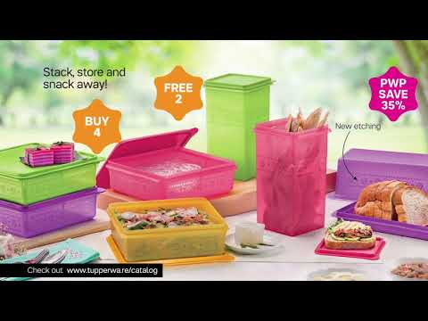 Tupperware Brands Singapore Campaign 2 | 16 Feb - 31 Mar 2018