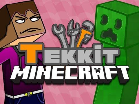 Tekkit: Episode 6 - Alchemy Bag! [Minecraft Mod]
