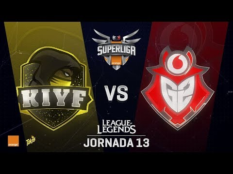 SUPERLIGA ORANGE - KIYF VS G2 VODAFONE - Mapa 1 - #SUPERLIGAORANGELOL13
