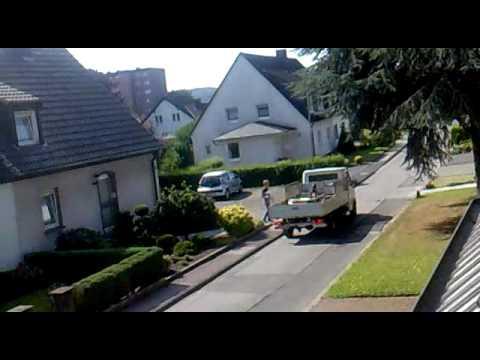 Der Schrotthändler fährt mit feinster Melodie durch Hagen ^^