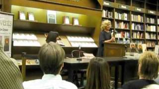 Kim Dower reading at Barnes & Noble in New York, with special introduction by Erica Jong
