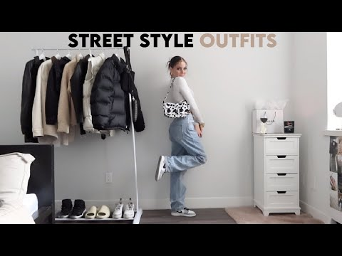 STREET STYLE OUTFIT IDEAS 2021 🖤