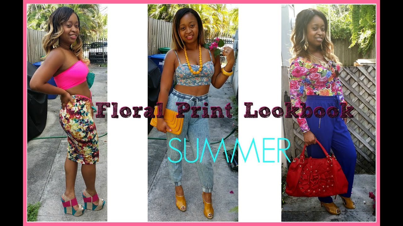 28c34c8012 Summer Floral Print Outfits Lookbook Going Out Beach Night Life Work Ideas