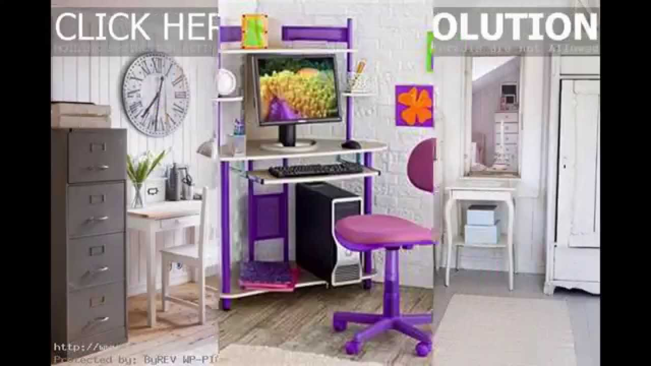 Small bedroom desk ideas - YouTube