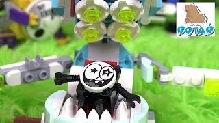 Операция Никселя!!! Medix Max Lego Mixels Series 8 Лего Миксели Мультик. Игрушки для Мальчиков