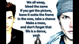 Avicii -  Lay Me Down (feat. Adam Lambert ft. Nile Rodgers) (Lyrics)