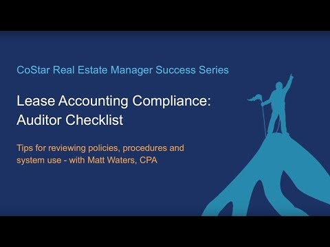 Lease Accounting Compliance: Auditor Checklist