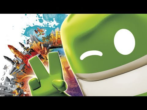 De Blob 2 - First 18 Minutes Gameplay + Video Review (2011) *German* | HD