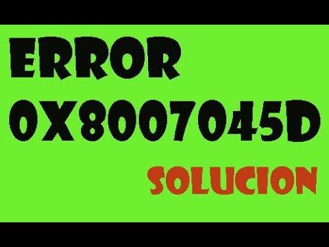 Error 0x8007045d en Windows 10/8/7 I SOLUCIÓN 2017 de YouTube · Duración:  3 minutos 30 segundos