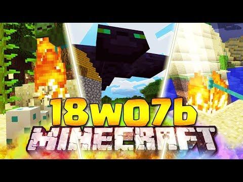 PHANTOM GIGANTI DI SIZE 100 - Minecraft ITA - 18w07b: Evocare Fulmini, Caverne nel Nether, Bolle