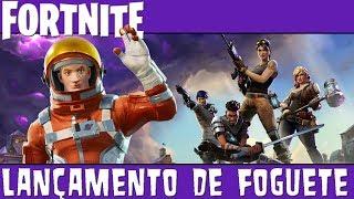 Fortnite - Lançamento de Foguete