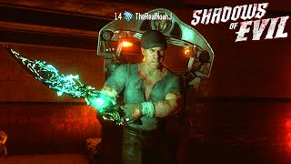 "BLACK OPS 3 ZOMBIES *NEW* EASTER EGGS ""SHADOWS OF EVIL"" GAMEPLAY WALKTHROUGH! (BO3 Zombies)"