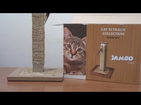 Arranhador para gatos Barcelona com poste de aço e sisal | Pets com Carinho