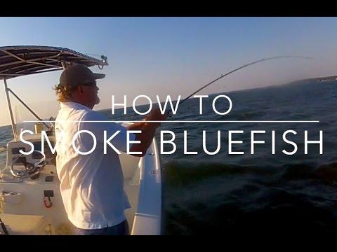 How To Smoke Bluefish - Chesapeake Style