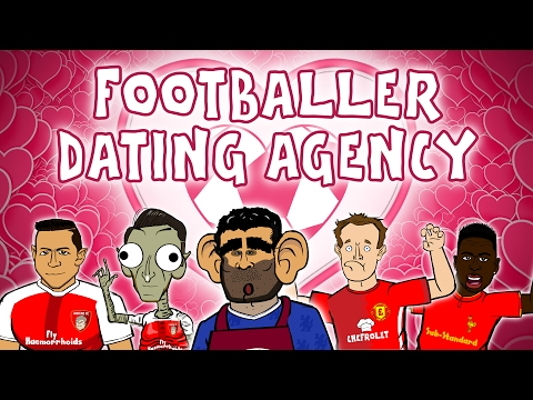 💖FOOTBALLER DATING AGENCY💖 (Valentine's Day 2017 with Costa, Sanchez, Moyes, Sturridge and Muller)