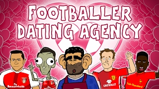 💖FOOTBALLER DATING AGENCY💖 (Valentine's Day 2017 with Costa, Sanchez, Moyes, Sturridge and Muller) thumbnail