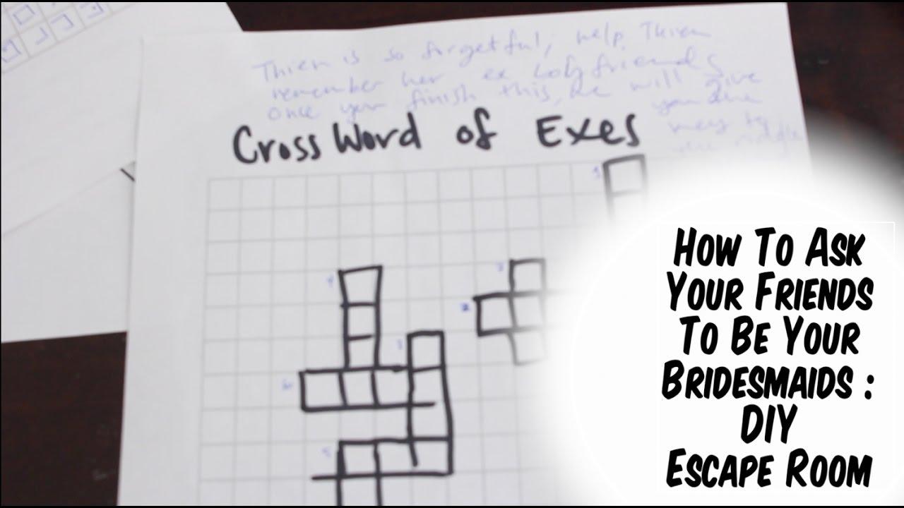 Vlog escape room diy instructions youtube for Diy escape room