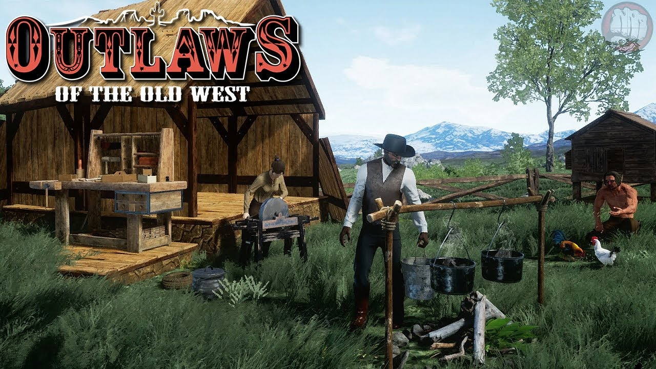 Crafting Stations Outlaws Of The Old West Gameplay S1 Ep2 Youtube
