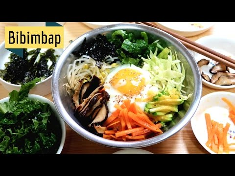 Recipe Bibimbap Korean Food
