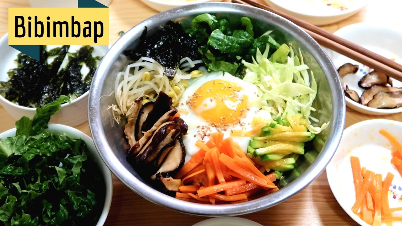 How To Korean Bibimbap Youtube