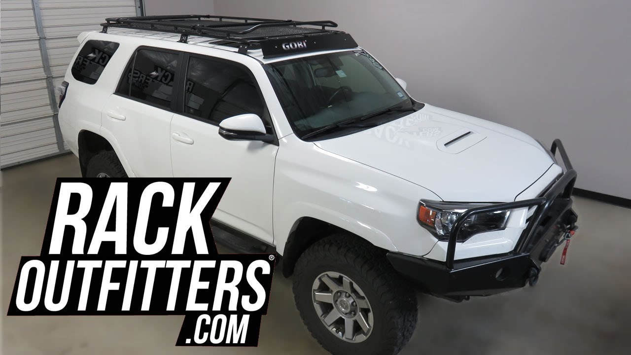 Toyota 4runner Gen5 With Gobi Stealth Off Road Roof Rack