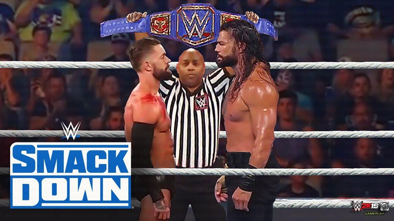 WWE July 30, 2021 - Roman Reigns vs. Finn Balor (WWE Universal Championship)