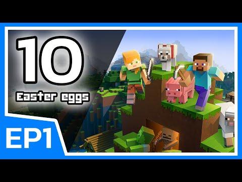 10 Easter eggs ในเกม Minecraft EP1