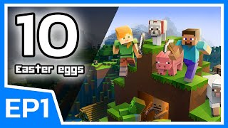 10 Easter eggs ในเกม Minecraft EP1