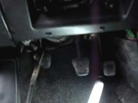 ВАЗ 2110 замена тросика сцепления