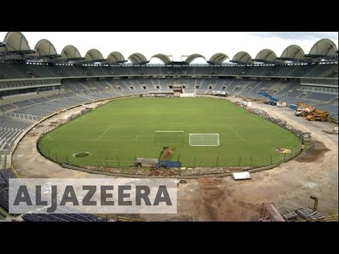 Gabon: Questions surround unfinished football stadium