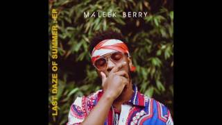 Gambar cover Maleek Berry - Let Me Know (Audio)
